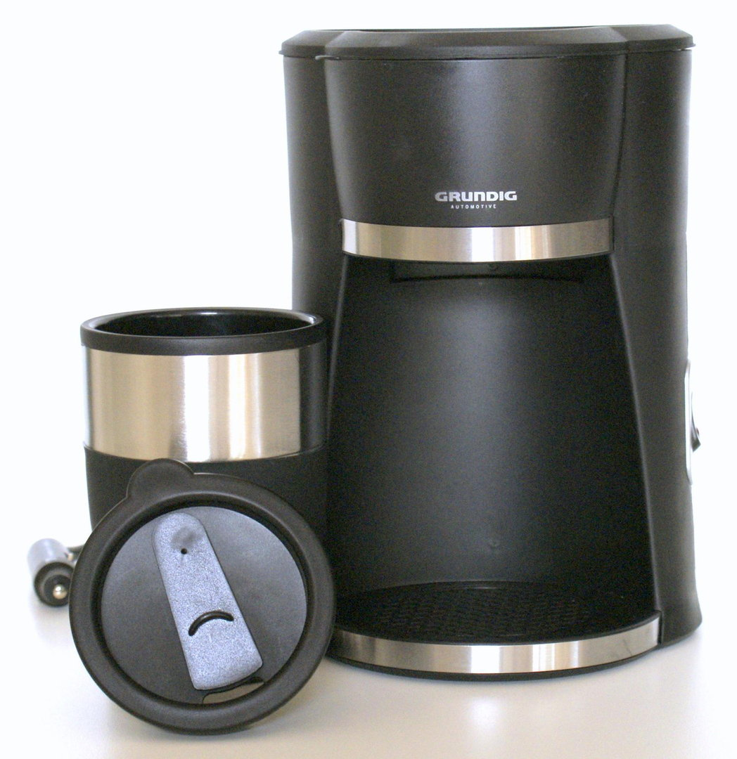 grundig 12v kaffeemaschine 1 cup f r lkw caravan. Black Bedroom Furniture Sets. Home Design Ideas