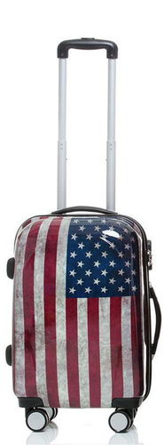 Reise Koffer Trolley - BB Stars and Stripes - Gr. M
