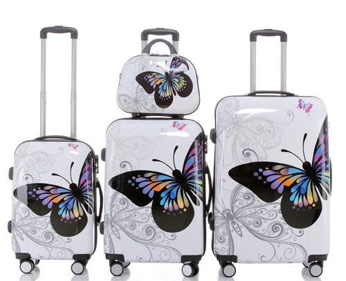 Set Koffer Hartschale ABS/Polycarbonat - BB Butterfly