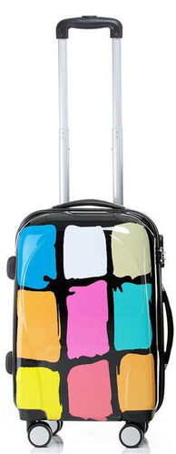 Reise Koffer Trolley - BB Colors - Gr. M