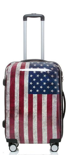 Reise Koffer Trolley - BB Stars and Stripes - Gr. L