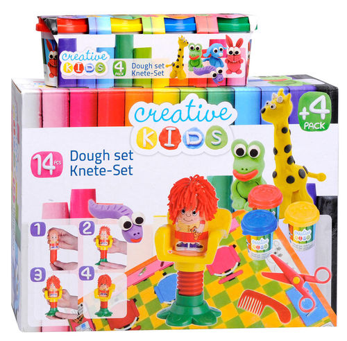 Knete-Set Frisiersalon (Creative Kids)